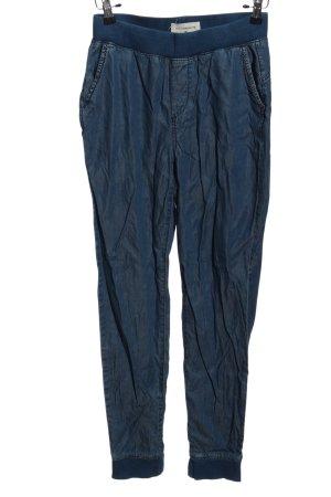 Reserved Pantalon «Baggy» bleu style décontracté