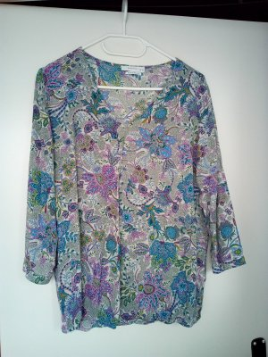 Concept Reserved Tunic Blouse multicolored viscose