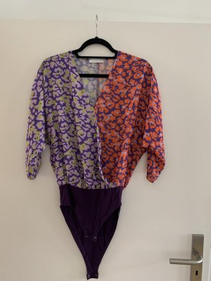 Reserved Blusa tipo body multicolor