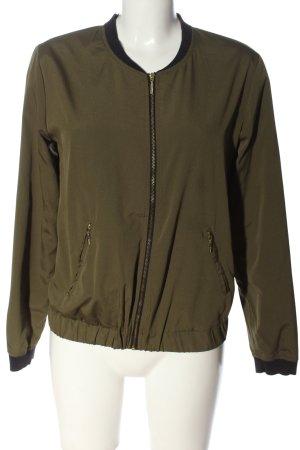 Reserved Bomber Jacket khaki casual look