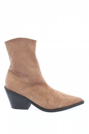 Reserved Booties braun Casual-Look