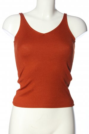 Reserved Camisole rood kabel steek casual uitstraling