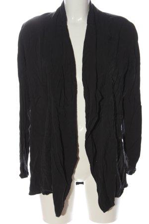 Reserved Cardigan schwarz Casual-Look