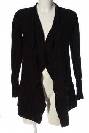 Reserved Cardigan schwarz Casual-Look