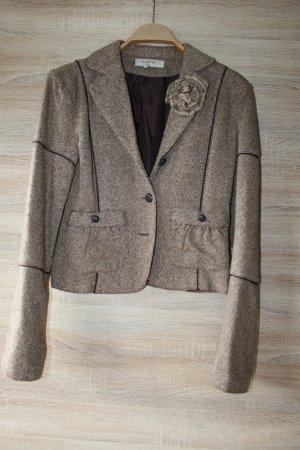 RESERVED casual Taillierter Blazer braun - wolle gr.M