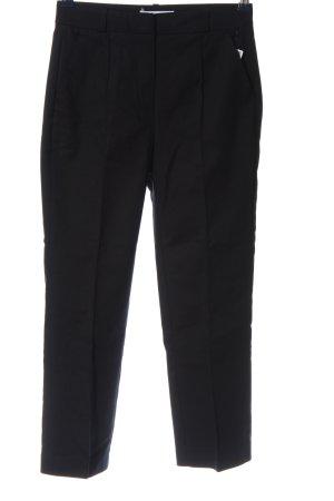 Reserved Pantalone chino nero stile professionale