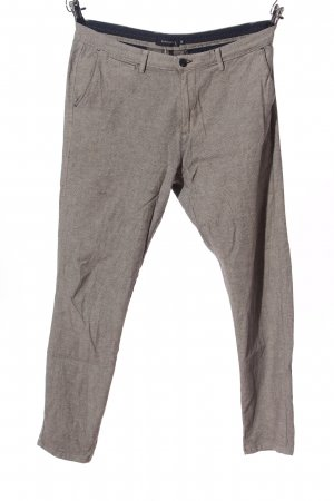 Reserved Chinohose hellgrau meliert Business-Look