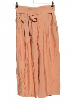 Reserved Pantalone culotte color carne elegante
