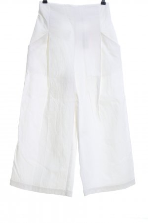Reserved Pantalone culotte bianco stile casual