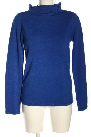 Reserved Feinstrickpullover blau Casual-Look