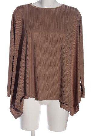 Reserved Blusa brillante marrone stile casual