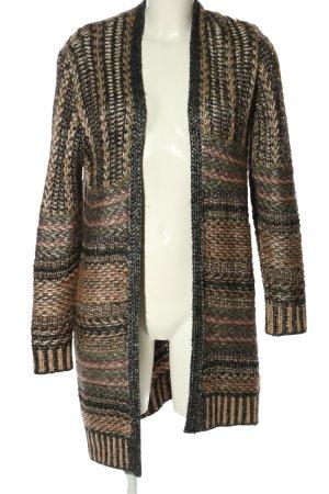 Reserved Veste tricotée en grosses mailles moucheté style décontracté