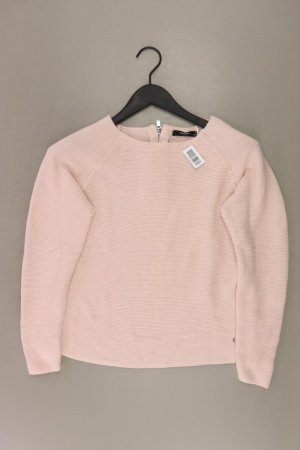 Reserved Coarse Knitted Sweater dusky pink-pink-light pink-pink
