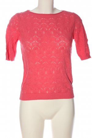 Reserved Jersey de ganchillo rosa look casual
