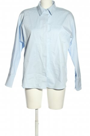 Reserved Hemd-Bluse blau Business-Look