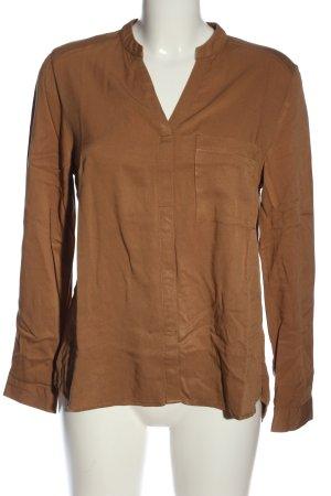 Reserved Hemd-Bluse braun Business-Look