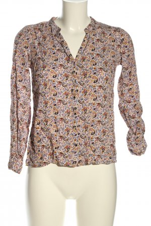 Reserved Hemd-Bluse abstraktes Muster Casual-Look