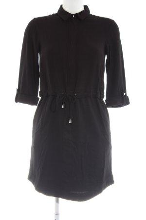 Reserved Hemdblusenkleid schwarz Casual-Look