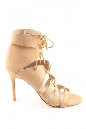 Reserved High Heel Sandaletten nude Casual-Look