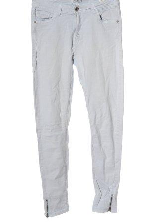 Reserved High Waist Jeans hellgrau Casual-Look