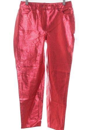 Reserved Hoge taille jeans rood Jaren 90 stijl
