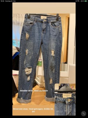 Reserved Baggy jeans azuur