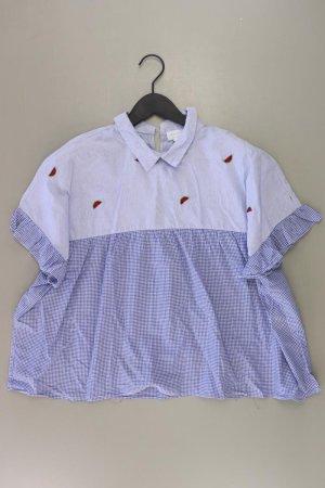 Reserved Bluzka w kratę niebieski-niebieski neonowy-ciemnoniebieski-błękitny