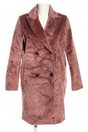 Reserved Fake Fur Coat pink business style