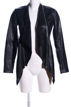 Reserved jacke schwarz Casual-Look
