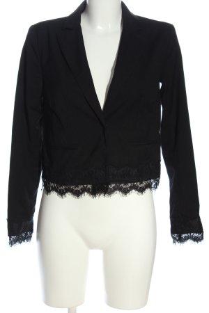 Reserved Korte blazer zwart casual uitstraling