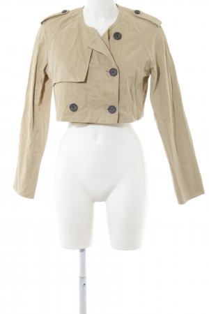 Reserved Kurz-Blazer beige Casual-Look
