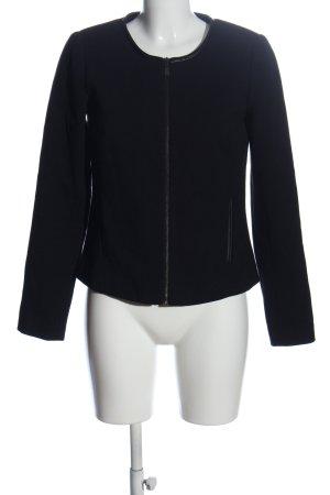 Reserved Kurz-Blazer schwarz Casual-Look