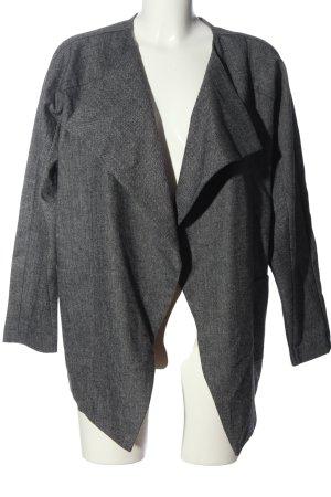 Reserved Korte blazer lichtgrijs gestippeld casual uitstraling