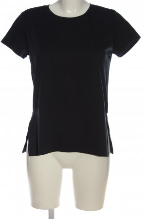 Reserved Kurzarm-Bluse schwarz Casual-Look