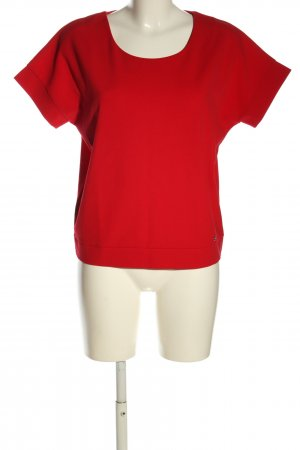 Reserved Kurzarm-Bluse rot Casual-Look