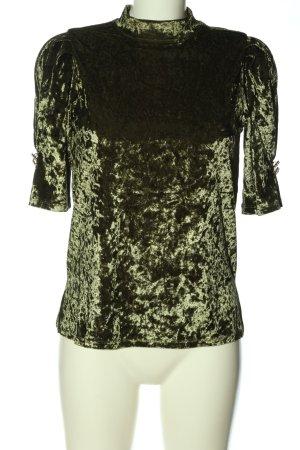 Reserved Kurzarm-Bluse khaki Elegant