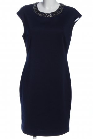 Reserved Kurzarmkleid blau Business-Look