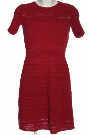 Reserved Kurzarmkleid rot Casual-Look