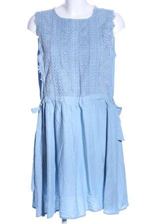 Reserved Kurzarmkleid blau Casual-Look