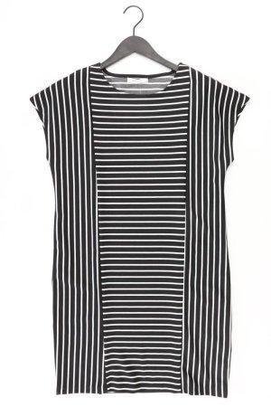 Reserved Kurzarmkleid Größe M gestreift neuwertig schwarz aus Polyester