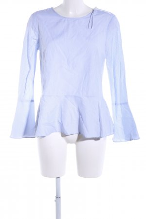 Reserved Langarm-Bluse blau Streifenmuster Casual-Look