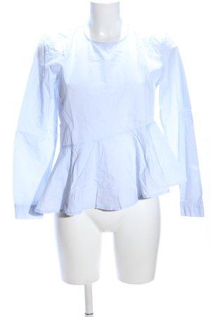 Reserved Langarm-Bluse blau Casual-Look