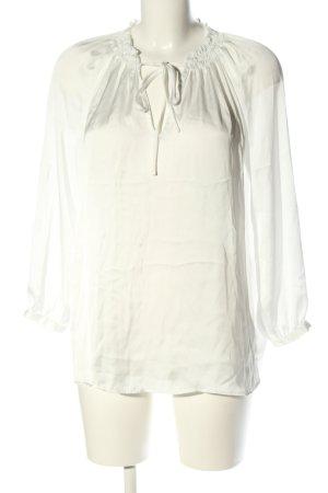 Reserved Langarm-Bluse weiß Elegant