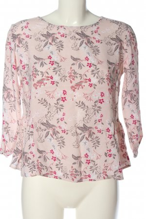 Reserved Langarm-Bluse Allover-Druck Casual-Look