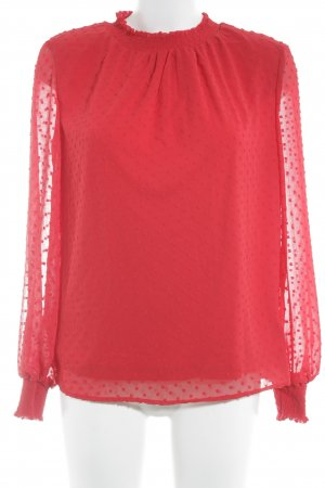Reserved Langarm-Bluse rot Casual-Look