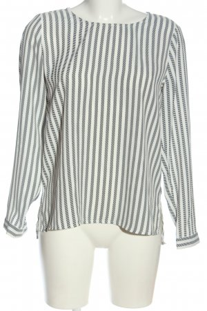 Reserved Blusa de manga larga blanco-negro look casual
