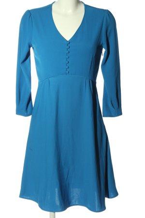 Reserved Langarmkleid blau Casual-Look