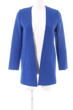 Reserved Lange Jacke blau Business-Look