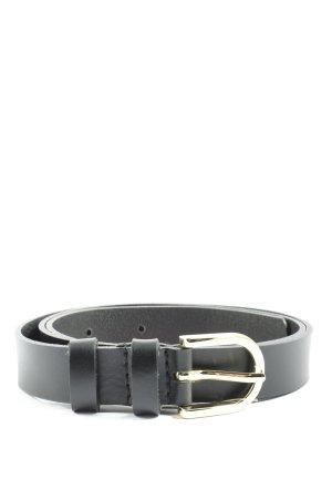 Reserved Cintura in ecopelle nero stile professionale