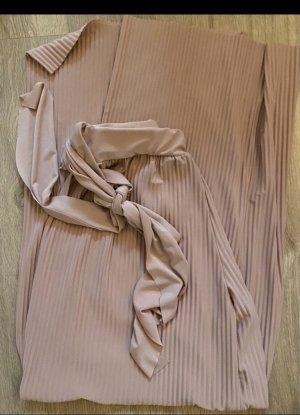 Reserved Pantalone a zampa d'elefante rosa antico